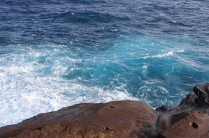 I love that you can see the different shades of blue in the ocean.