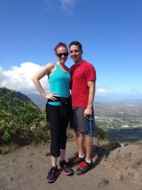 At the top of Mariner's Ridge.