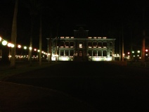 Iolani Palace, the only royal palace in the US.