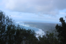 Getting further away from Kalaupapa as we head up the trail.