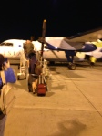Our plane to Molokai