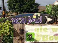 Açaí Bowl Sign