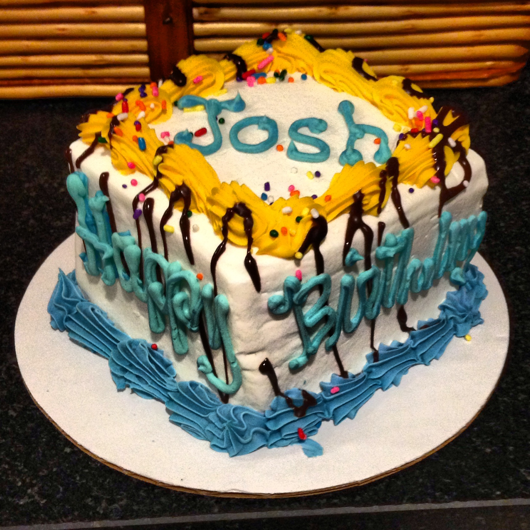 Happy Birthday Cake For Josh Images