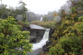 Wai`ale Falls and Dam