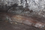 Graffiti in the cave