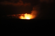 Halema`uma`u Crater at Night 3