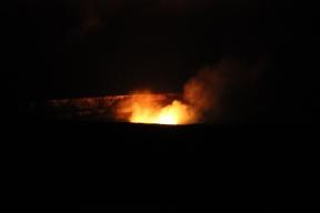 Halema`uma`u Crater at Night 8