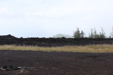 Lava and Road