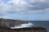 Ocean near sea arch