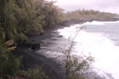 Kehena Black Sand Beach 6