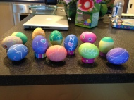 Our Easter egg display!