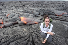 Me with the lava.