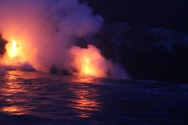 Lava Boat Tour 9