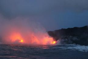 Lava Boat Tour 11