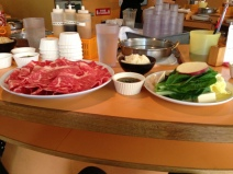 Shabu Shabu for lunch!