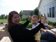 Cerelle and Olivia. September 2009.