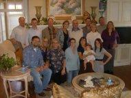 Grandpa's 80th Birthday. The entire family. October 2009.