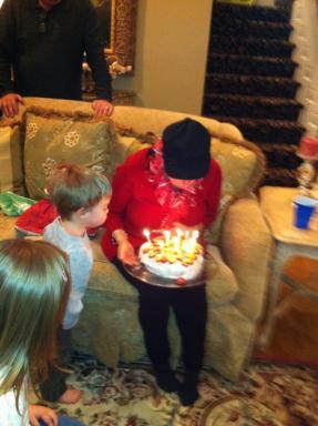Cerelle and Owen. Cerelle's Birthday 2013.
