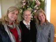 Sisters. Jan, Cerelle and my mom. Easter 2013.