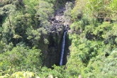 Lower Puohokamoa Falls.