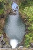 Standing above Makapipi Falls.