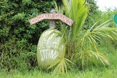 Coconut Glen's sign