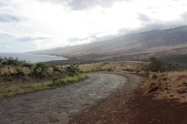 Road in Southeast Maui