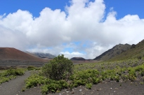 The view from the crater floor.