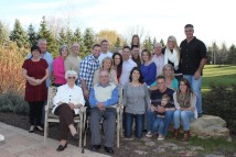 The entire family. Thanksgiving 2012.