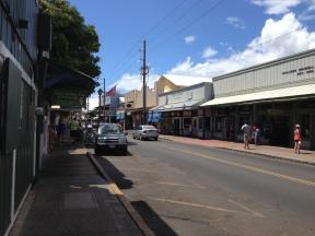 Downtown Lahaina.