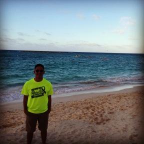 Josh at Kailua Beach Park