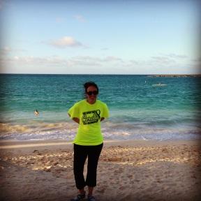 Me at Kailua Beach Park
