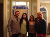 Austin, me, Kristen and Elizabeth
