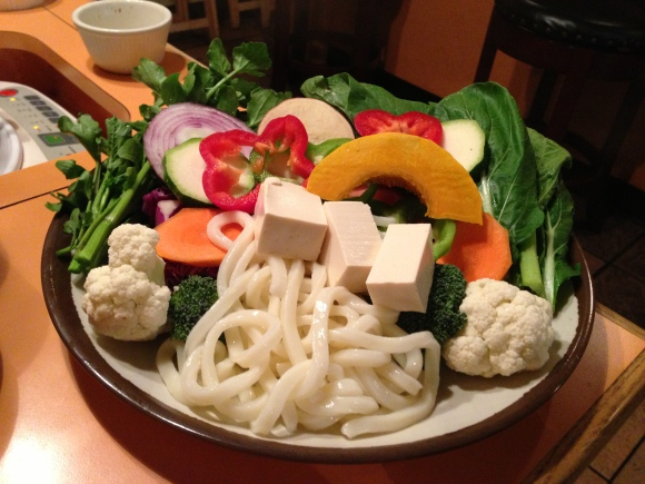 Vegetable Shabu Shabu. So good!
