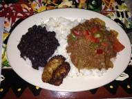 My mom's dinner: ropa vieja