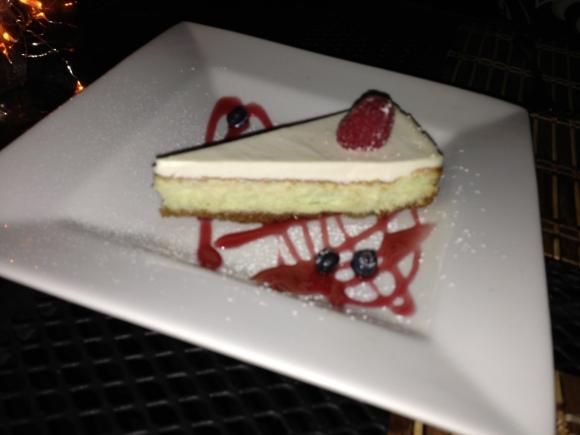 Key Lime Cheesecake dessert!