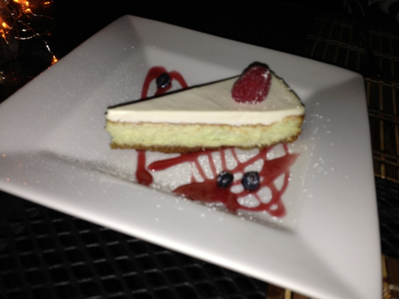 Key Lime Cheesecake dessert!