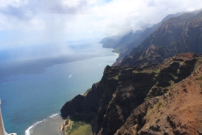 The Nā Pali Coast. Incredible.