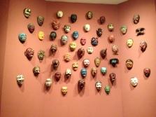 Cool wall of masks