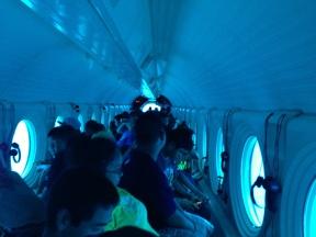 Our submarine.