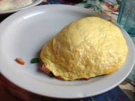 Farmers omlet (Bailey and I both had this).