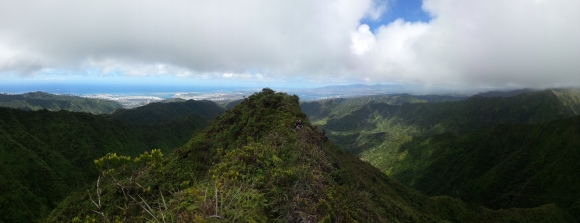 Tripler Ridge to Haiku Stairs 56