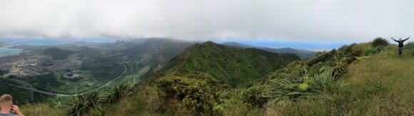 Tripler Ridge to Haiku Stairs 38