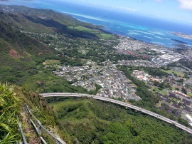 Tripler Ridge to Haiku Stairs 86