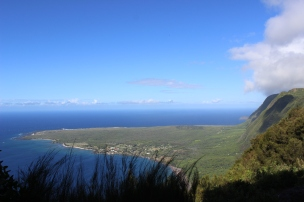 Kalaupapa National Park below.