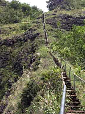 Tripler Ridge to Haiku Stairs 88