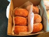 Josh's box of malasadas.