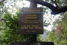 More warning signs.