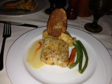 Pecan Crusted Fresh Mahi Mahi that Josh and I shared.
