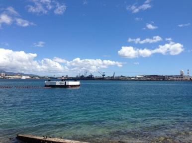 Views of Pearl Harbor.